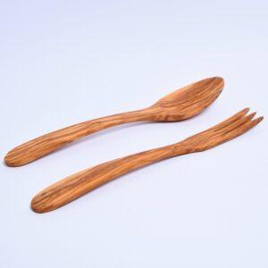 Spoon and Fork Salad Server 1